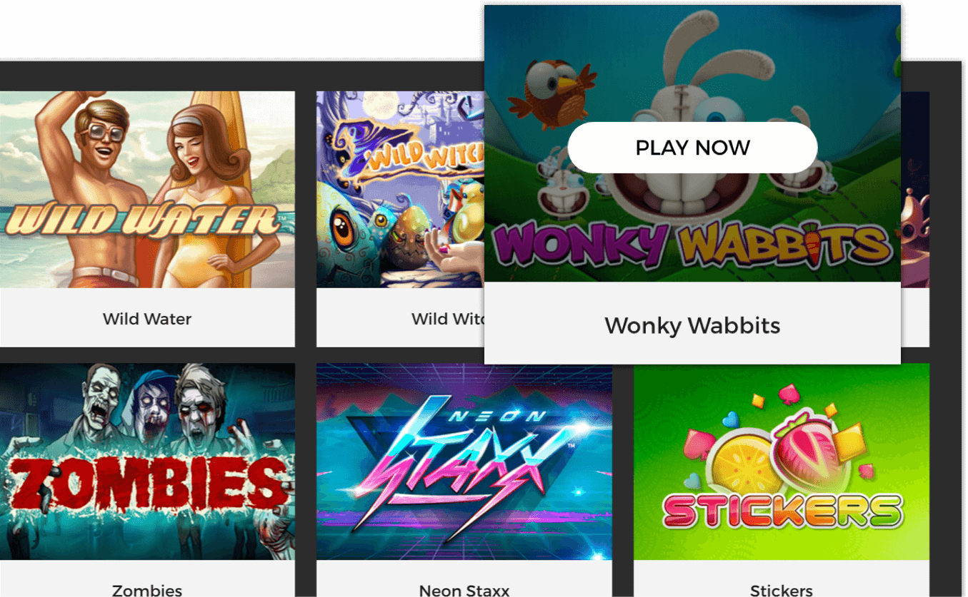 Casino games demo lobby - mobile and tablet compatible