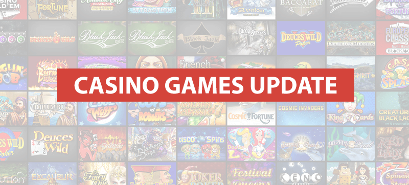 HTML5 casino games release & update